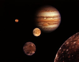 Jupiter and the Galilean Moons perfect Space and Astronomy Christmas Gifts
