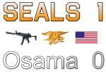 Seals - 1, Osama 0