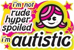 I'm Not Rude... Pink/Yellow (Girl)