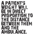 A Patient's Weight...