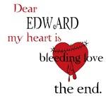 My heart is bleeding love