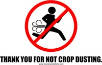 Thank You for Not Crop Dusting
