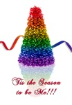 gay pride Christmas tree