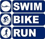 Men's Swim Bike Run Triathlon Triathlete