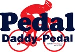 Pedal Daddy Pedal - Blue & Red with icon