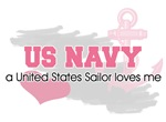 US Sailor loves me
