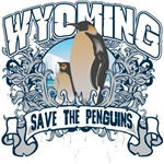 Save the Penguin Wyoming T-Shirts and Gifts