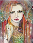 Gypsy Beautiful Fantasy Woman