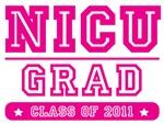 NICU Grad - Pink Lettering