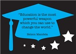 Nelson Mandela - Education A Powerful Weapon Quote