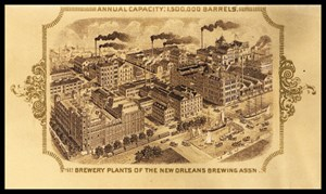 Brewing Plants of the New Orleans Brewing Assn.