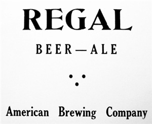 Regal Beer 1937