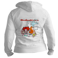 women's fitted hoodie