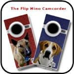 NEW!  Flip Mino Camcorders