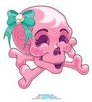 Kawaii Pink Skull