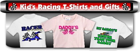 Kids Racing T-Shirts and Gifts
