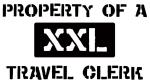 Property of: Travel Clerk