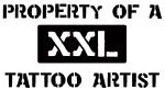 Property of: Tattoo Artist