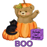 Halloween Boo Teddy