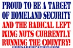 TARGET OF HOMELAND SECURITY!
