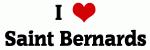 I Love Saint Bernards
