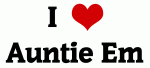 I Love Auntie Em