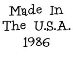 MADE IN U.S.A. 1986