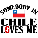 Somebody In Chile T-shirts