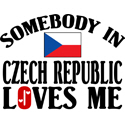 Somebody In Czech Republic T-shirts