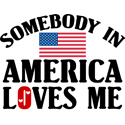 Somebody In America T-shirts