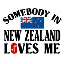 Somebody In New Zealand T-shirts