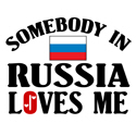 Somebody In Russia T-shirt