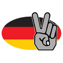 Peace In Germany T-shirts