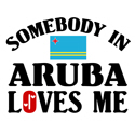 Somebody In Aruba T-shirts