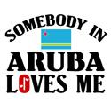 Somebody In Aruba T-shirts
