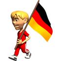 Cute 3D Germany T-shirt