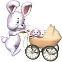 Cute 3D Rabbits