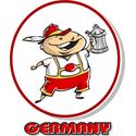 Cartoon Germany T-shirt