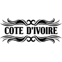 Tribal Cote d'Ivoire T-shirts