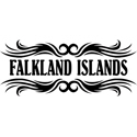Tribal Falkland Islands T-shirt