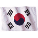 Wavy South Korea Flag