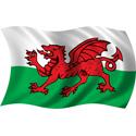 Wavy Wales Flag