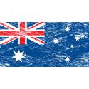 Vintage Australia Flag
