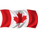 Wavy Canada Flag