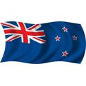Wavy New Zealand Flag
