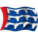Wavy Des Moines Flag