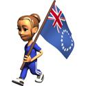 Cute 3D Cook Islands