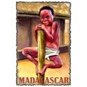 Vintage Madagascar Art