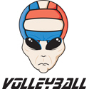 Volleyball Alien