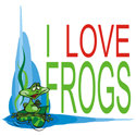 I Love Frogs T-shirt & Gift